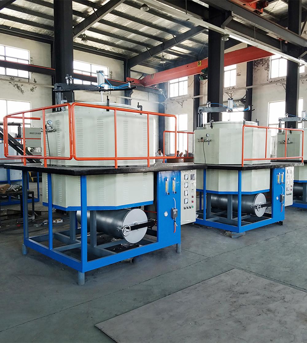 喷丝板电磁感应真空炉滤芯专用清洗设备