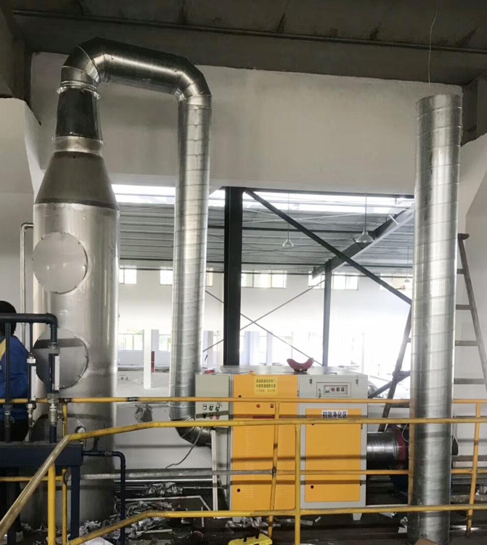 环保工业尾气处理设备不锈钢喷淋塔耐高温